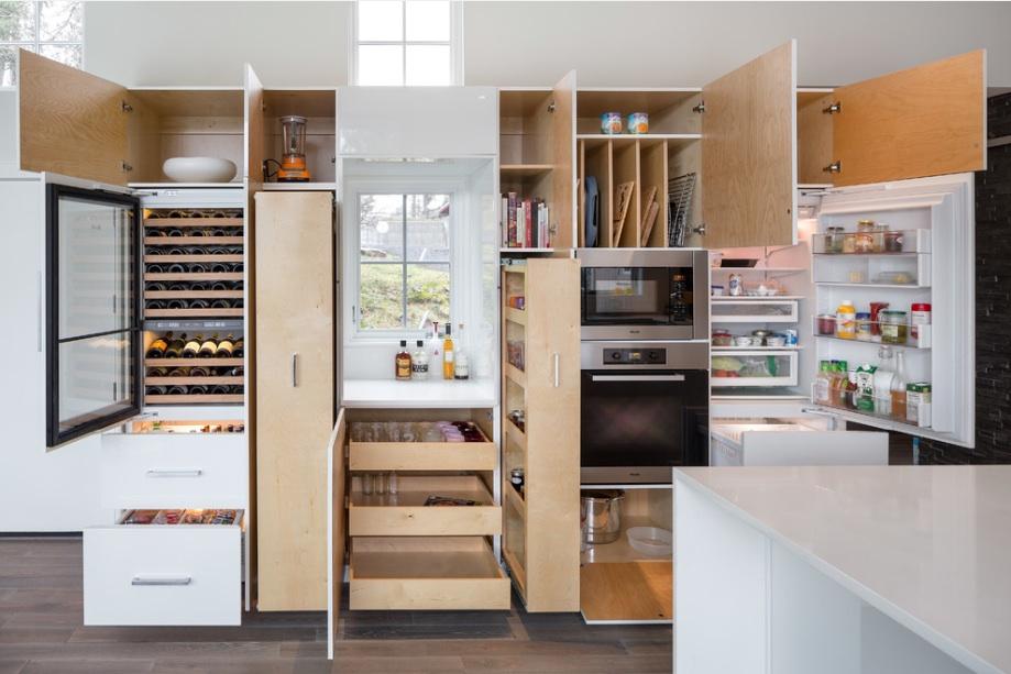тренда в кухнята през 2016 - функционалност
