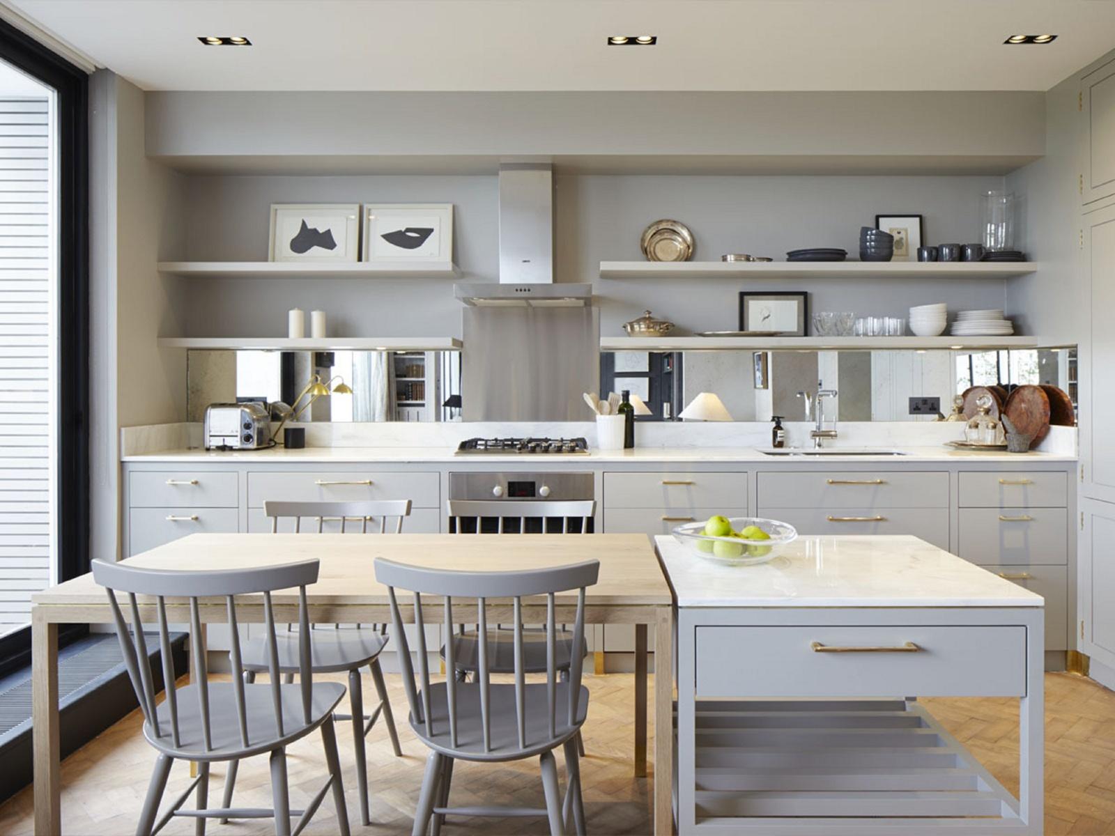 тренд в кухнята - неутрални цветове