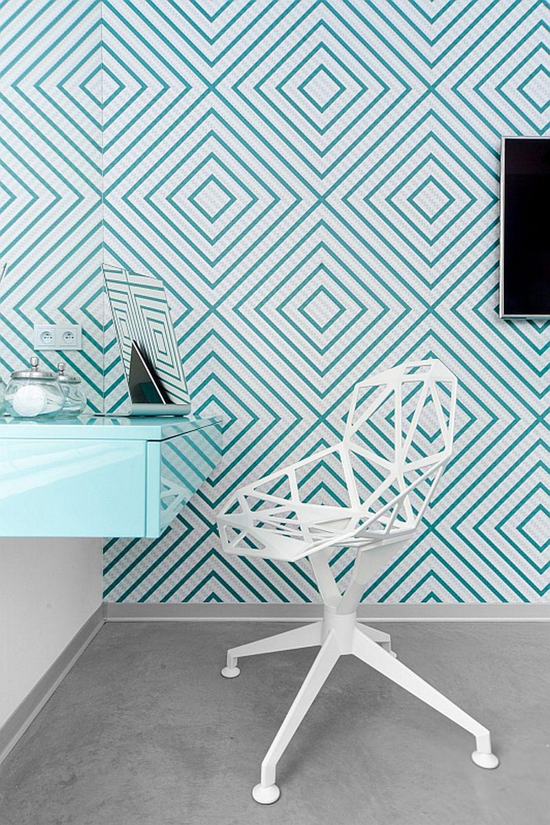 Интериор в бяло, синьо и сиво_10