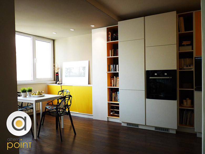 Кухня с плъзгащи врати_2