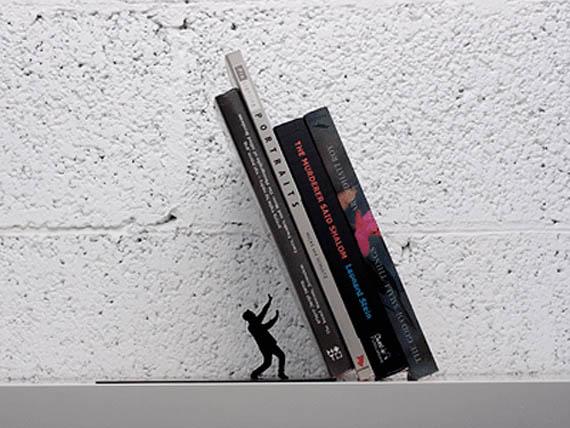 държач за книги - падаща книги