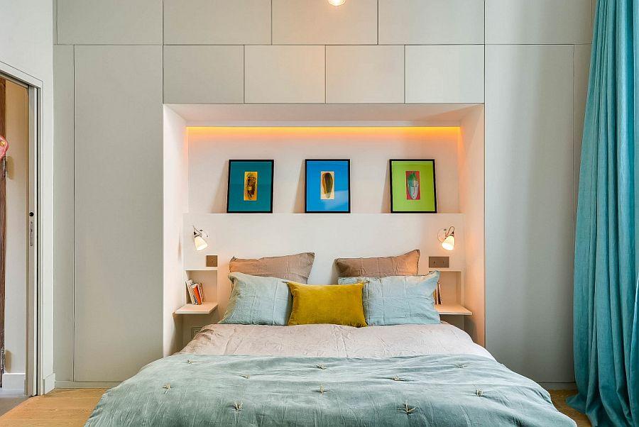 светъл двустаен апартамент в Париж_10