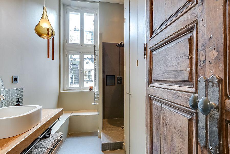 светъл двустаен апартамент в Париж_11