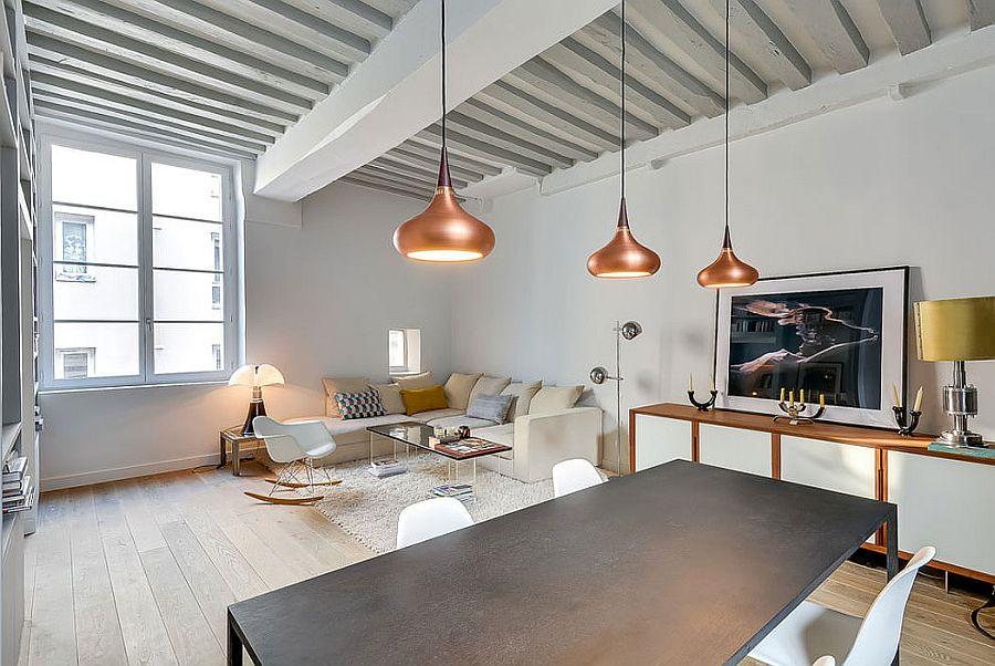 светъл двустаен апартамент в Париж_3