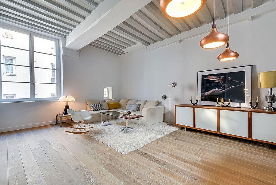 светъл двустаен апартамент в Париж_4