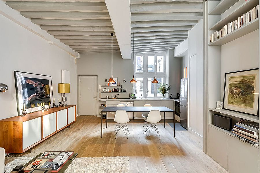 светъл двустаен апартамент в Париж_7