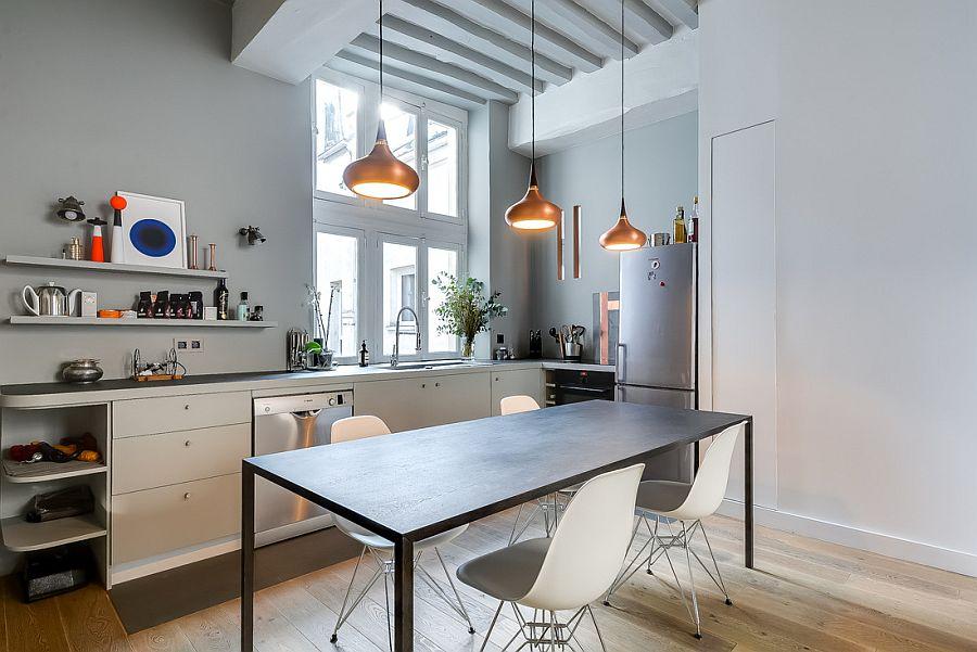 светъл двустаен апартамент в Париж_8