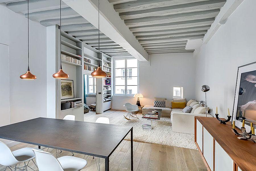 светъл двустаен апартамент в Париж_9