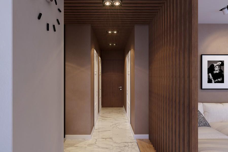 стилен интериор на апартамент в Русия_5