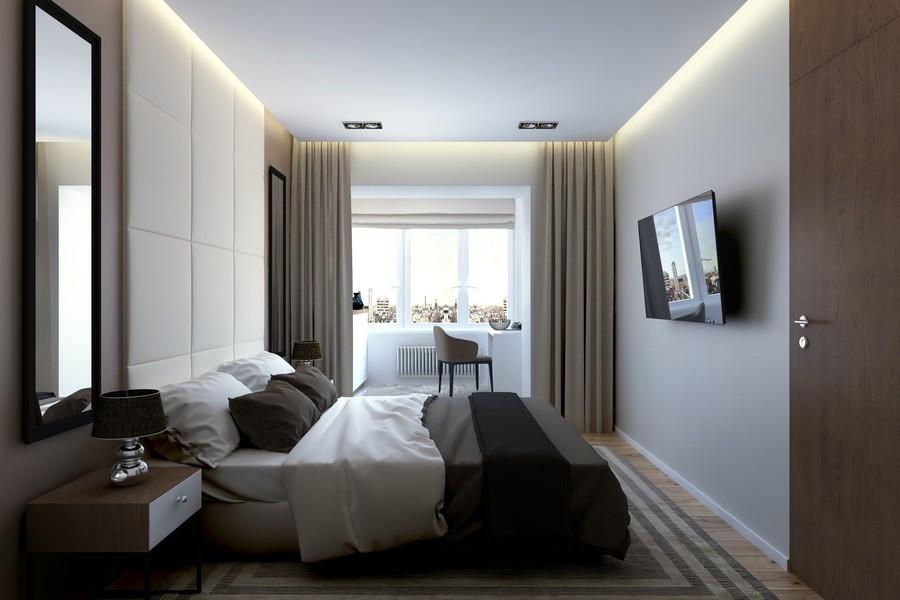 стилен интериор на апартамент в Русия_6