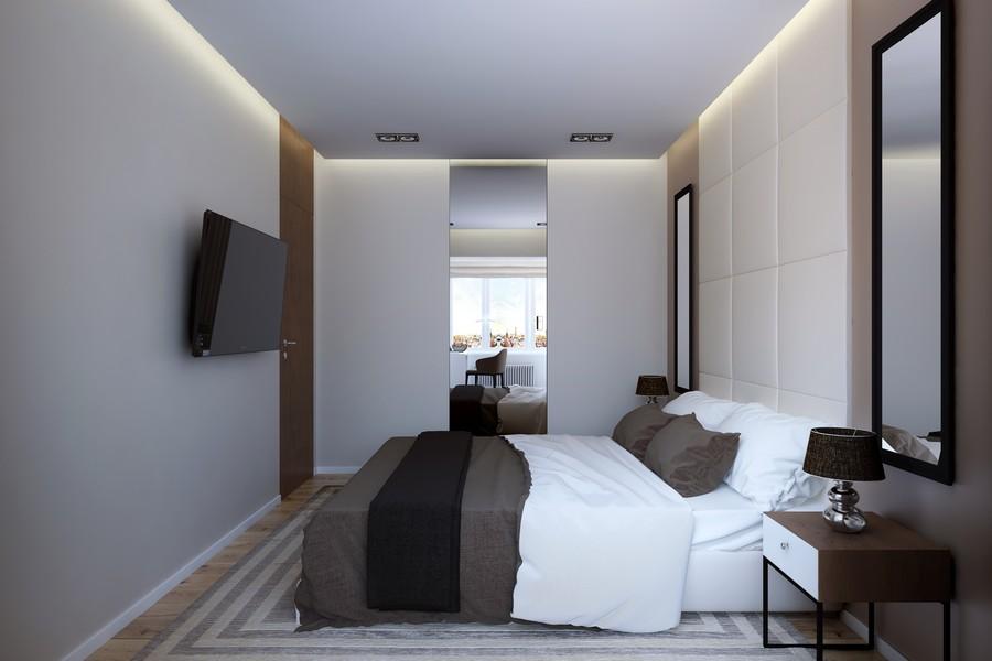 стилен интериор на апартамент в Русия_7
