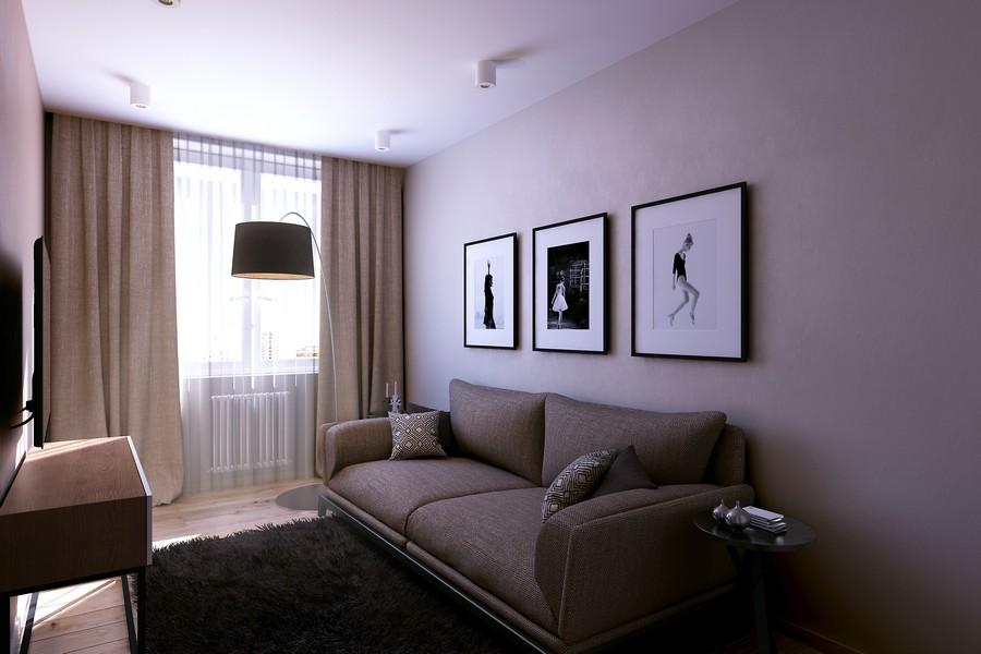 стилен интериор на апартамент в Русия_8