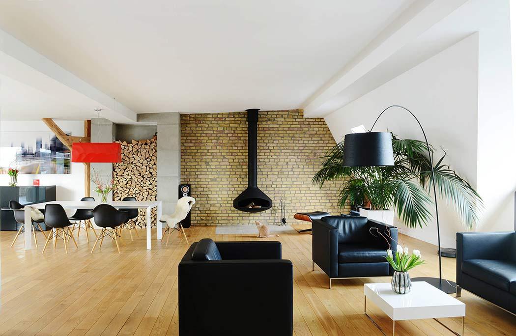 таванско жилище с топло излъчване_1