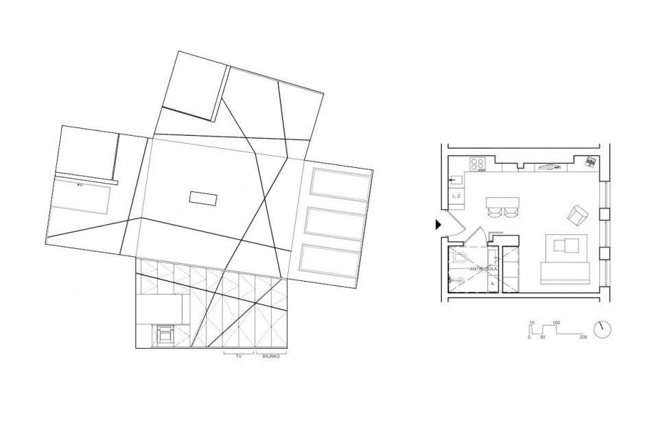 черно бял интериор в 26 кв. м жилище_18