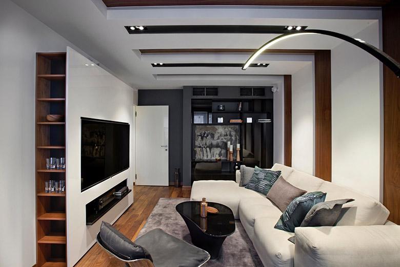 67 кв. м съвременен стил в мъжки апартамент-1