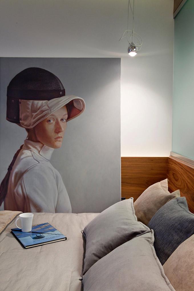 67 кв. м съвременен стил в мъжки апартамент-10