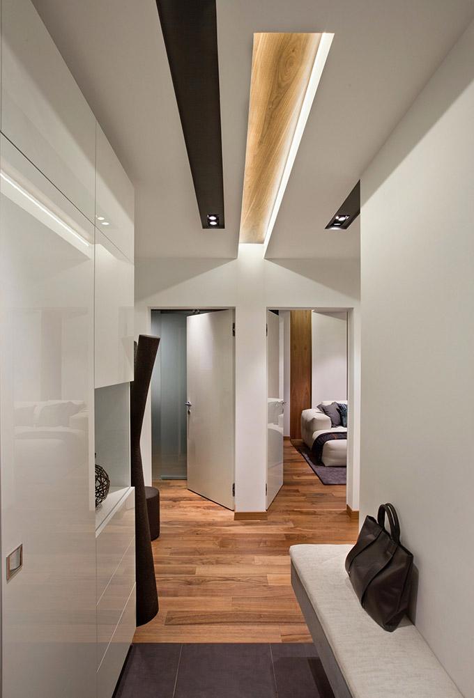 67 кв. м съвременен стил в мъжки апартамент-11