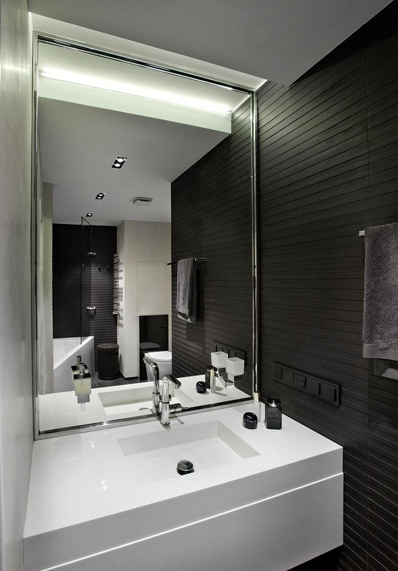 67 кв. м съвременен стил в мъжки апартамент-13