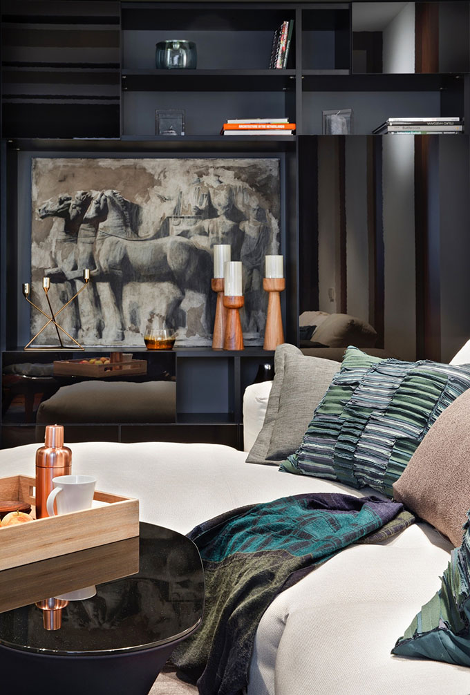67 кв. м съвременен стил в мъжки апартамент-3