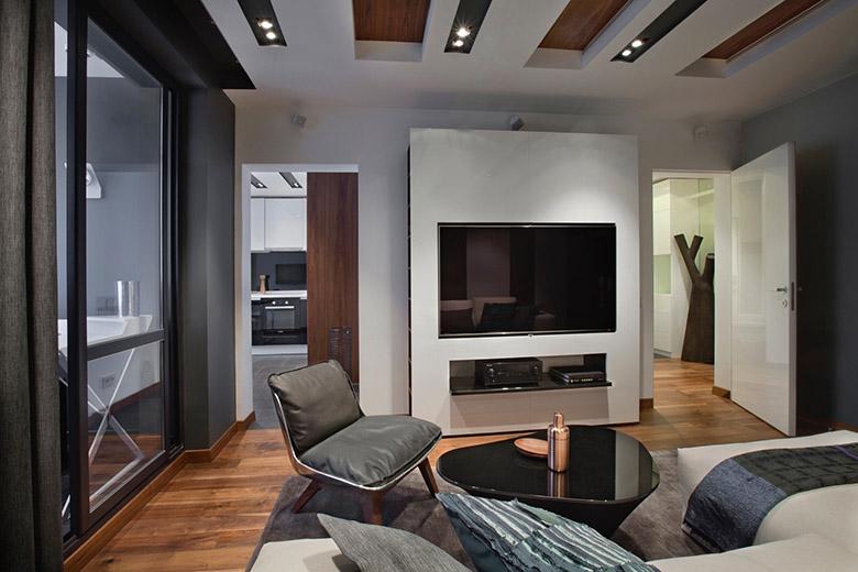 67 кв. м съвременен стил в мъжки апартамент-4