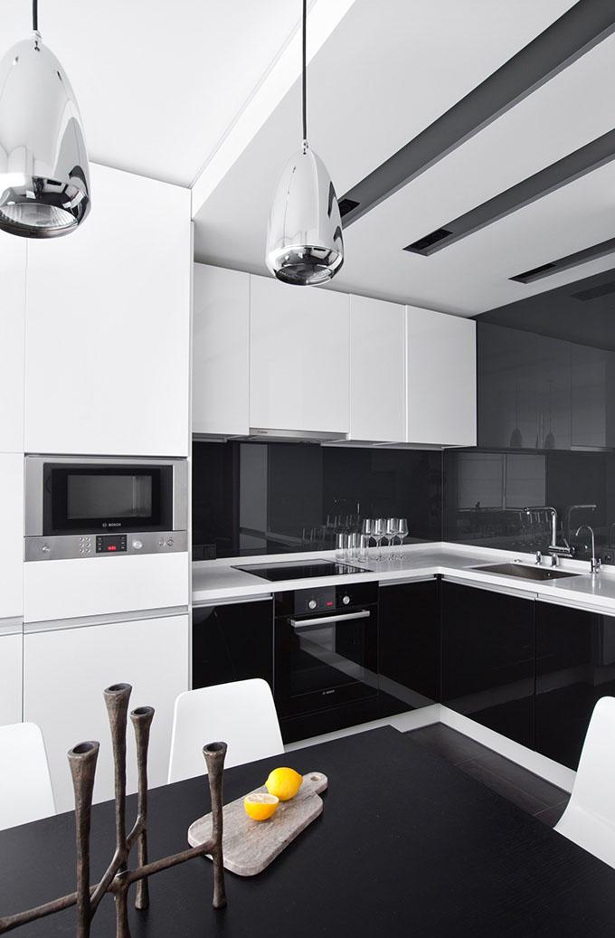 67 кв. м съвременен стил в мъжки апартамент-7
