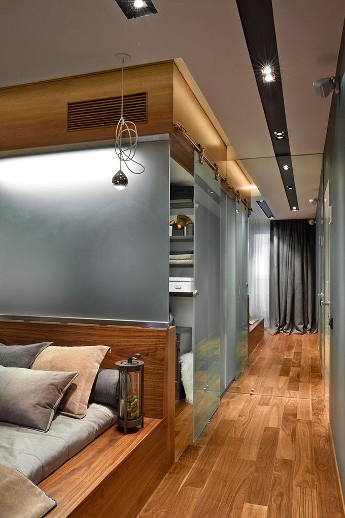 67 кв. м съвременен стил в мъжки апартамент-8