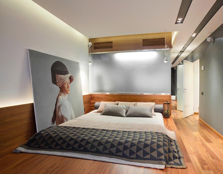67 кв. м съвременен стил в мъжки апартамент-9