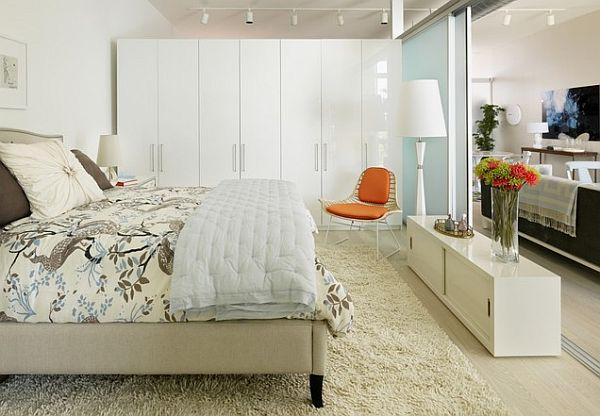 Как да отделим спалня в малък апартамент_12