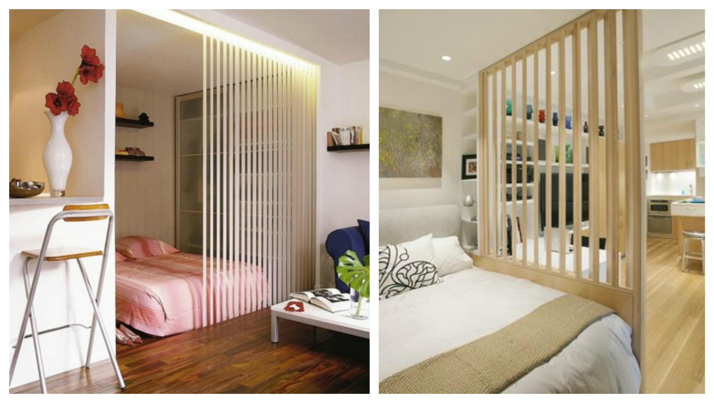 Как да отделим спалня в малък апартамент_13