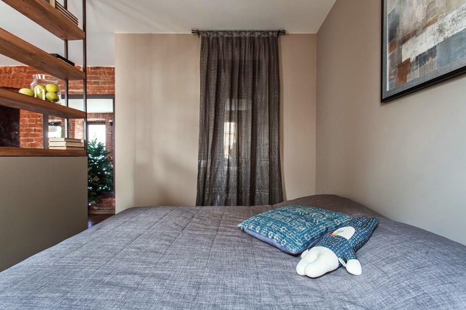 Как да отделим спалня в малък апартамент_15