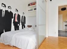 Как да отделим спалня в малък апартамент_2