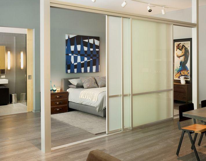Как да отделим спалня в малък апартамент_23