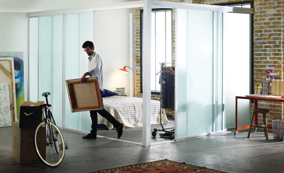 Как да отделим спалня в малък апартамент_26