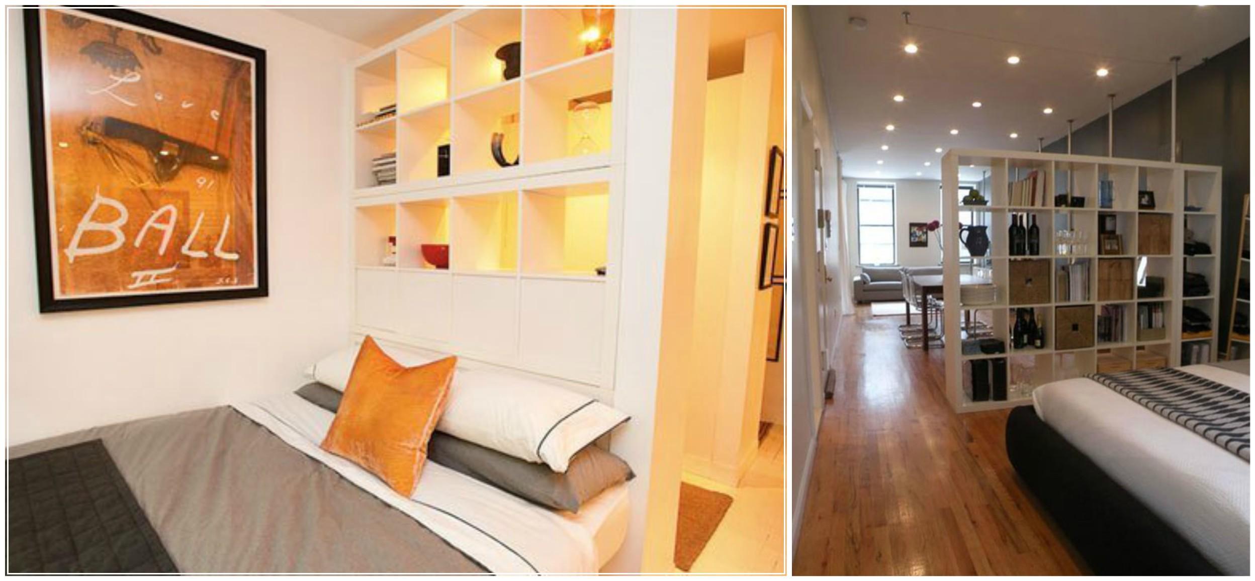 Как да отделим спалня в малък апартамент_27
