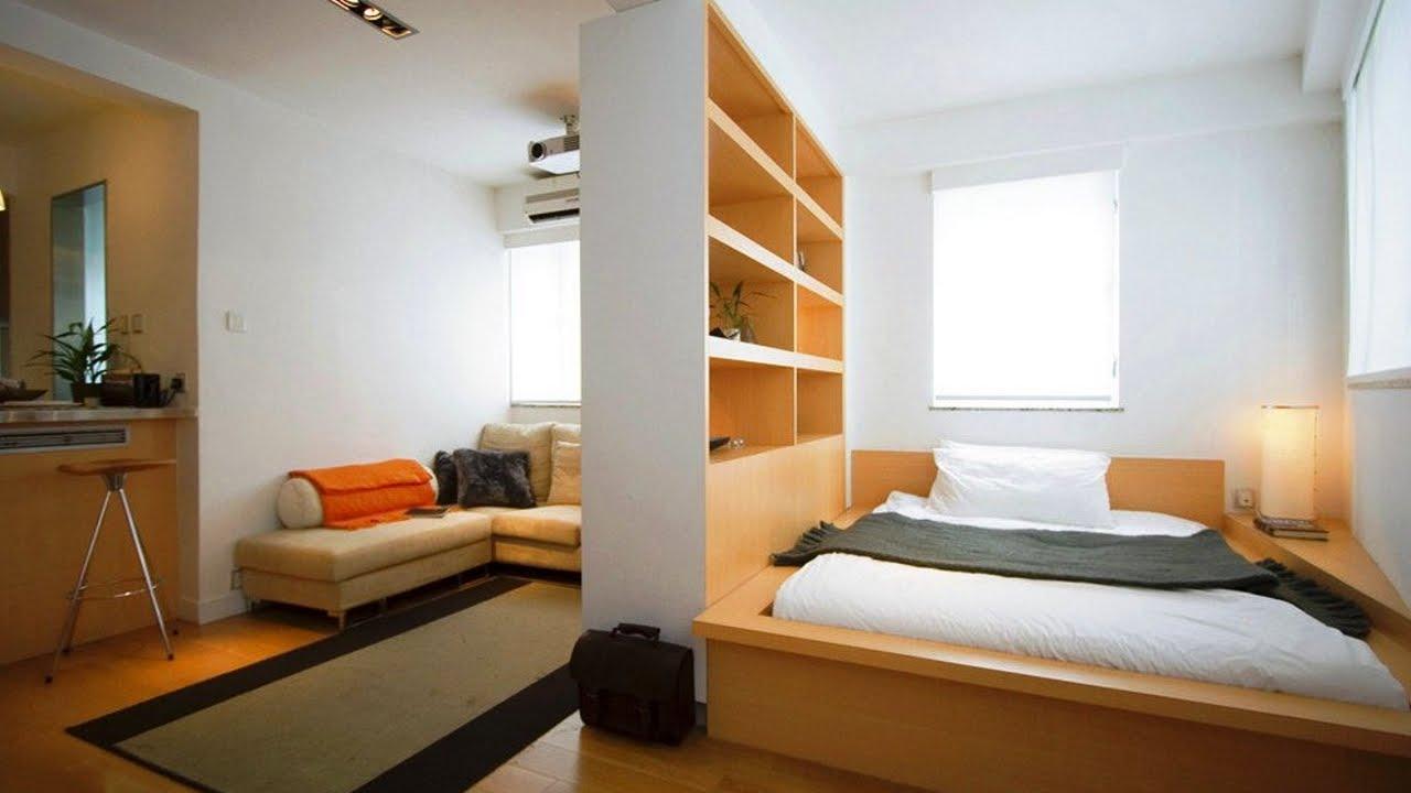 Как да отделим спалня в малък апартамент_5