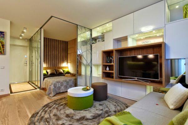 Как да отделим спалня в малък апартамент_8