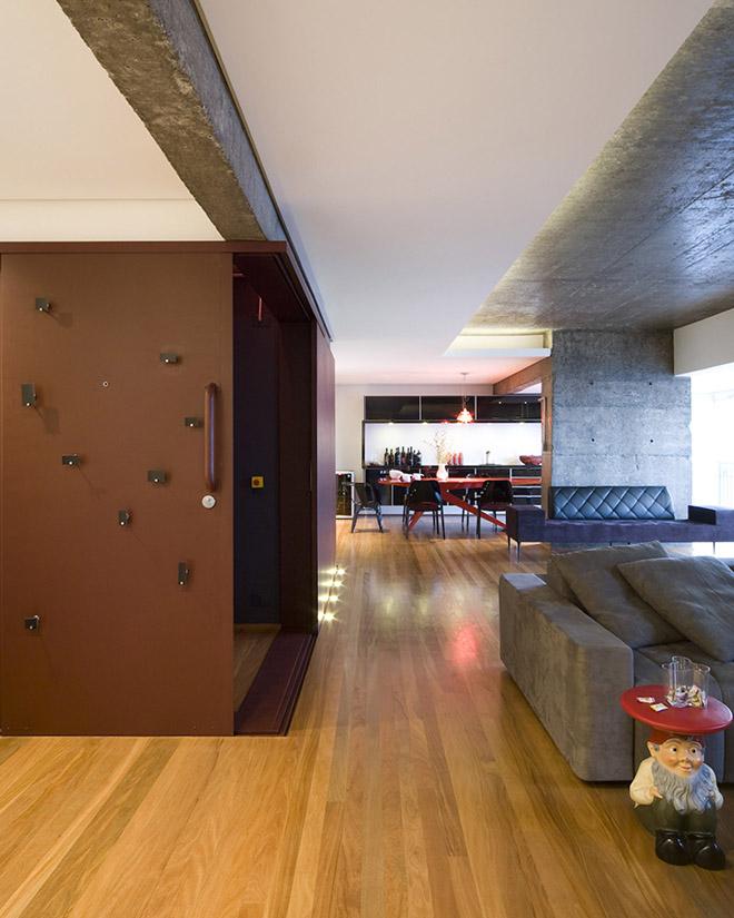 бетон и дърво интериор от Бразилия_12