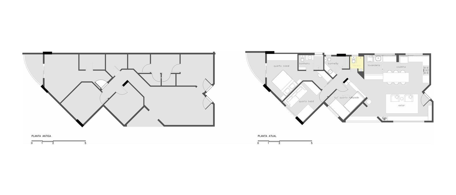 всякакви материали - жилище в индустриален стил_план
