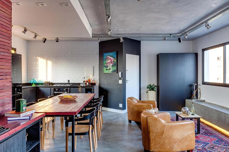 всякакви материали - жилище в индустриален стил_1