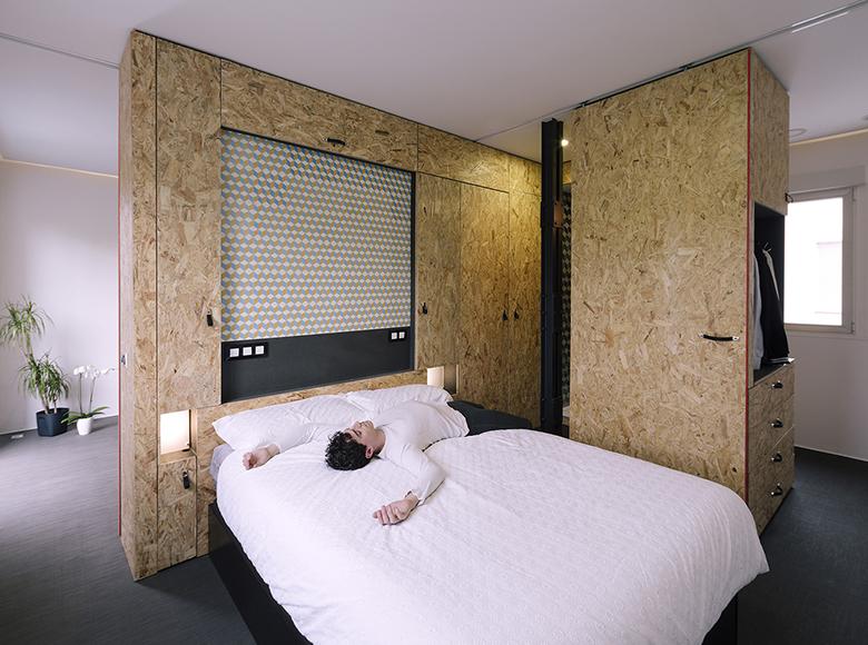 гъвкав дизайн за малък апартамент от шперплат_10