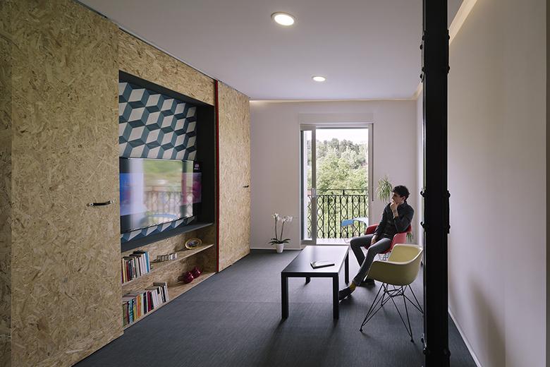 гъвкав дизайн за малък апартамент от шперплат_6