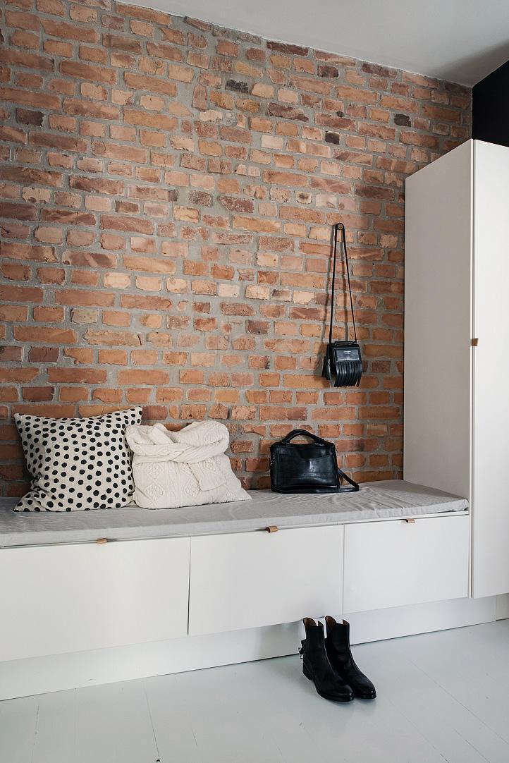 двустаен апартамент в скандинавски стил_антре