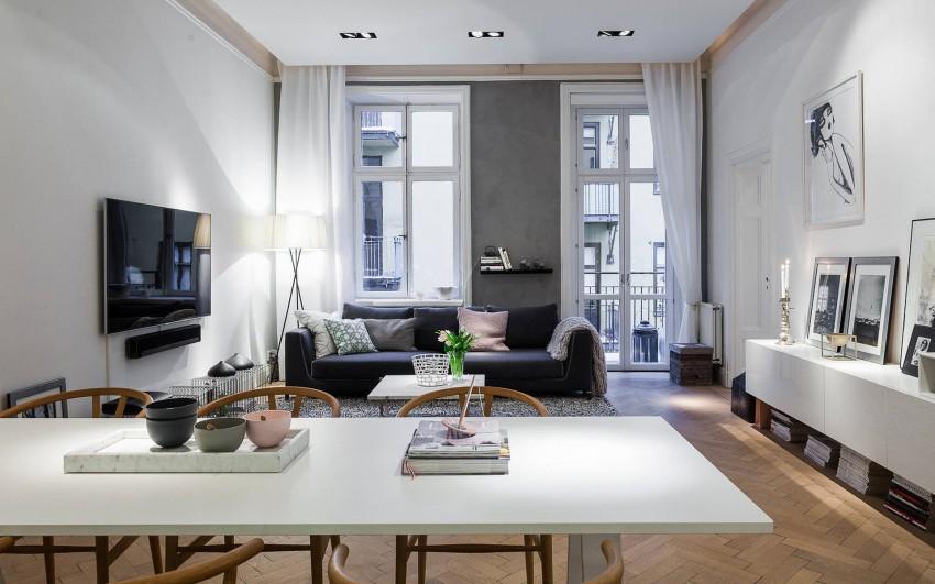 елегантен скандинавски апартамент 85 кв. м_2