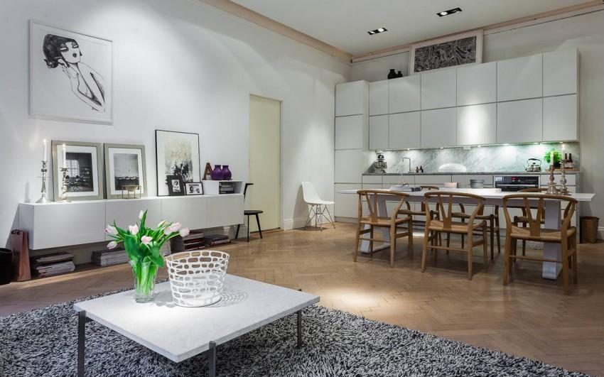 елегантен скандинавски апартамент 85 кв. м_3