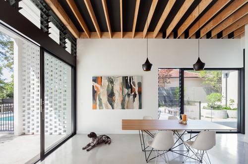 идеи за таван с дървени греди_2