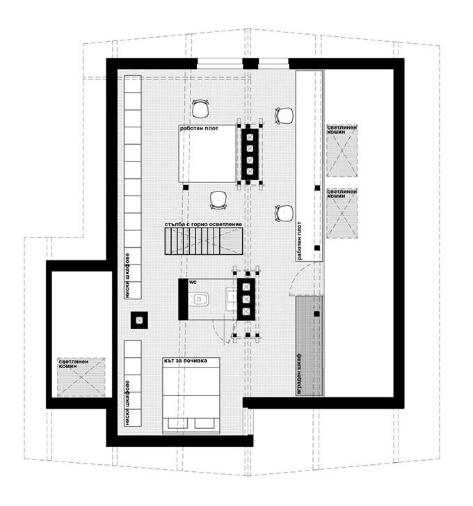 къща с ателие в банкя_dontdiy_план 2