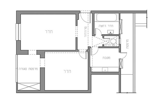малък апартамент с много пространство_план преди