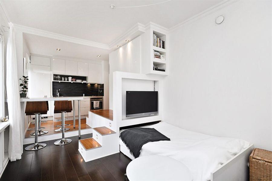 мини апартамент с легло-подиум_5