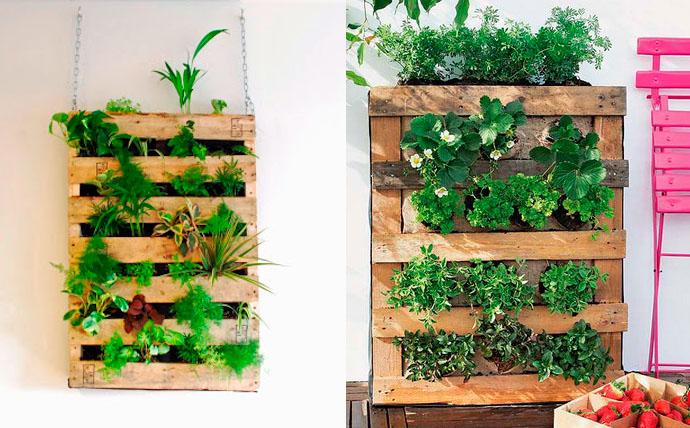 направи си сам вертикална градина