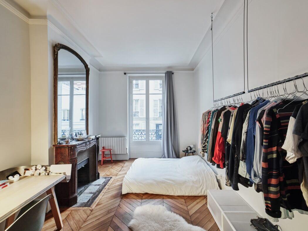 парижки апартамент с необичайни детайли_11